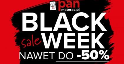 Black Weekend w salonie Pan Materac w Katowicach